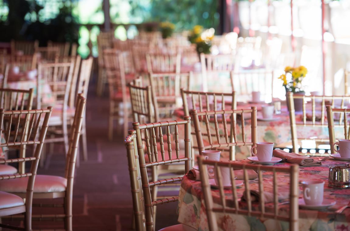 Tables at Endicott House