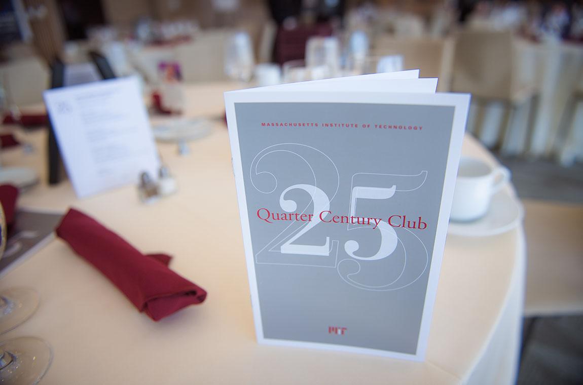 Quarter Century Club induction program