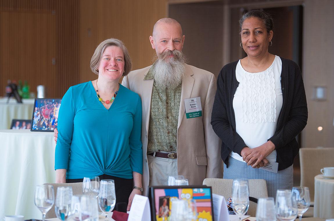 Jennifer Sulyma, Edward Rolfe, and Shelley Scruggs