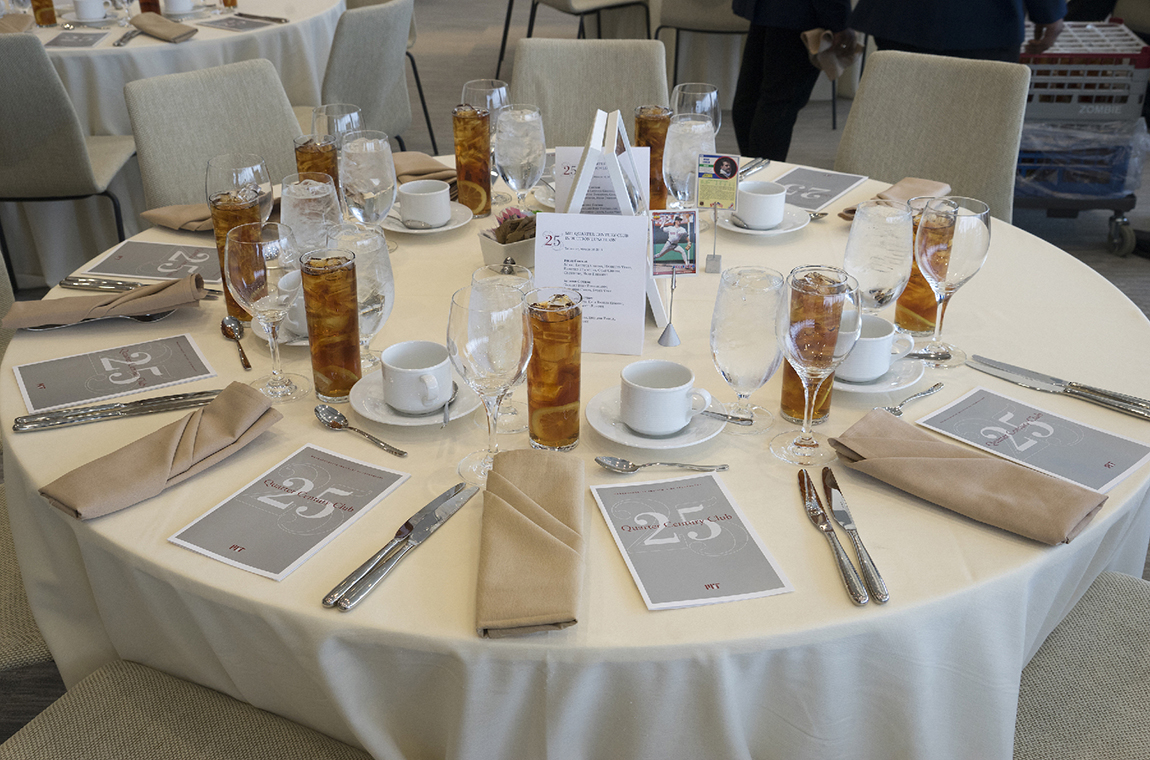 Photo of table luncheon setting