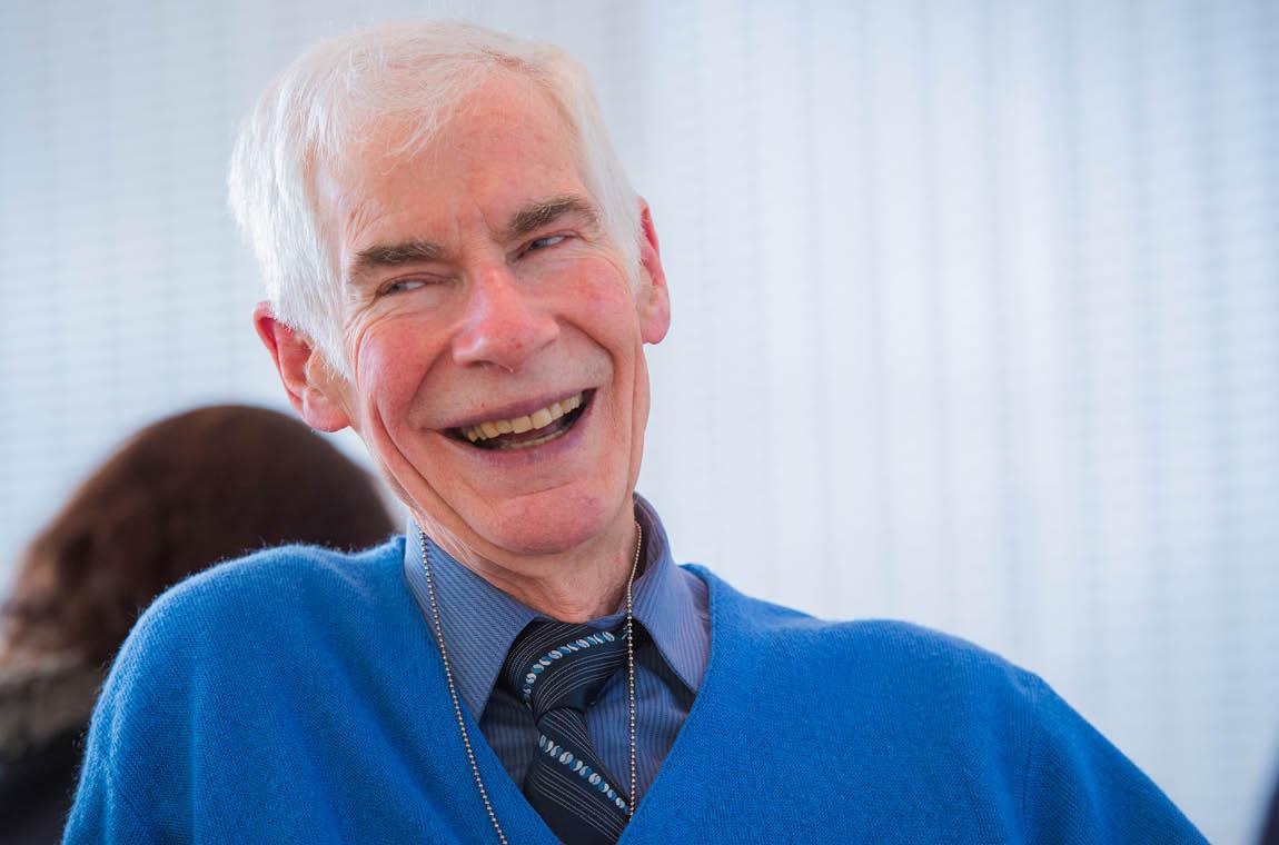 Photo of 50-year achiever Prof. Nigel Wilson