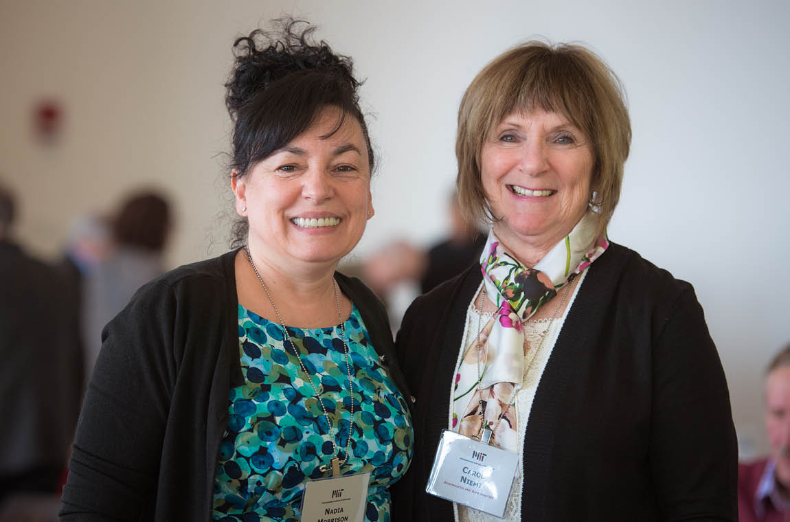 Photo of New QCC members Nadia Morrison and Carol Niemi
