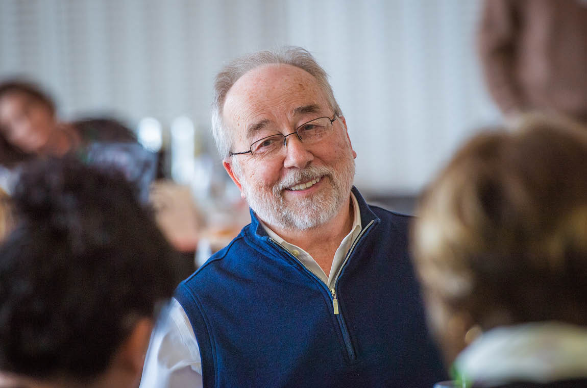Photo of Fifty-year achiever Steve Dimond