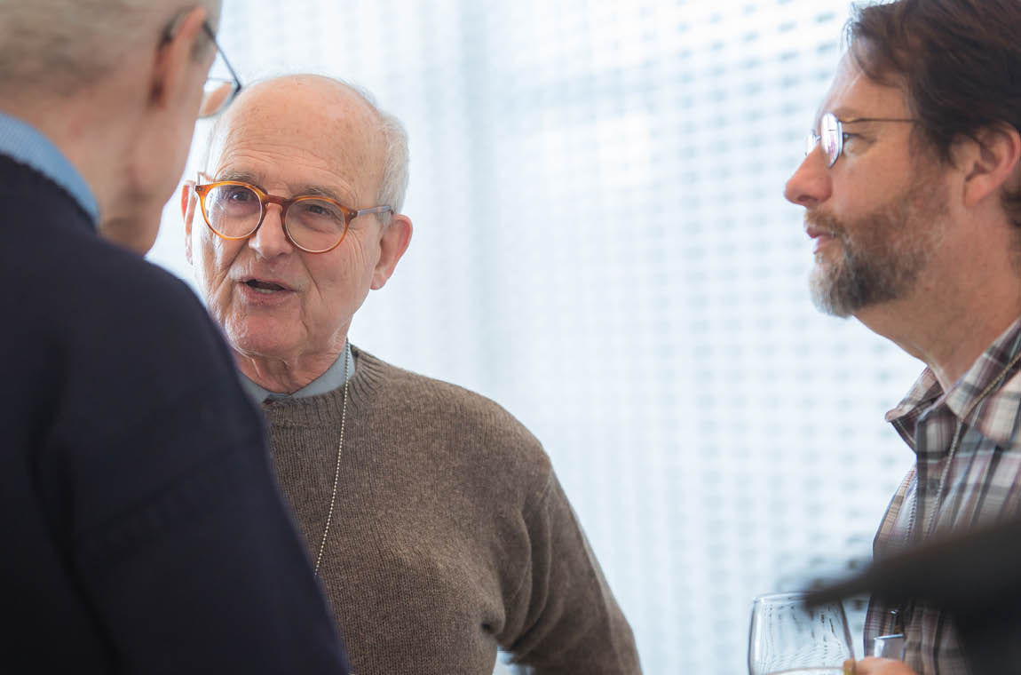 Photo of Nobel Laureate and Physics Professor Rainer Weiss