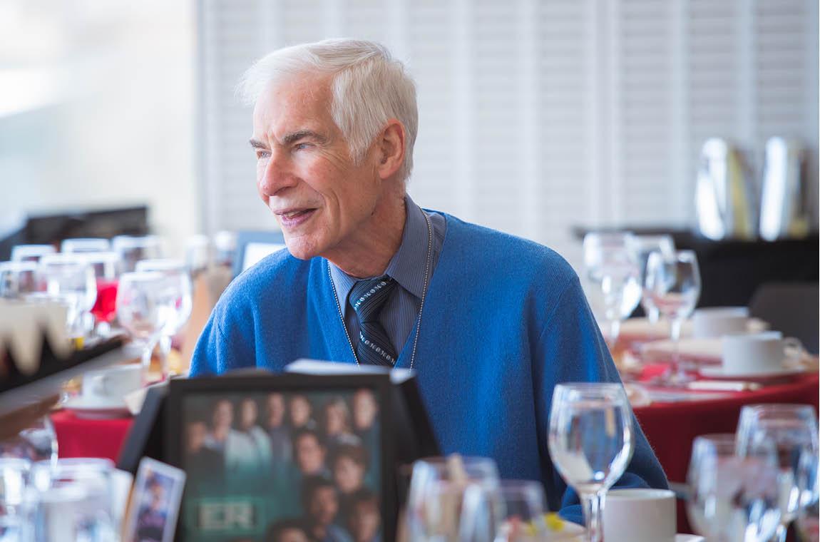 Photo of Fifty-year achiever Prof. Nigel Wilson