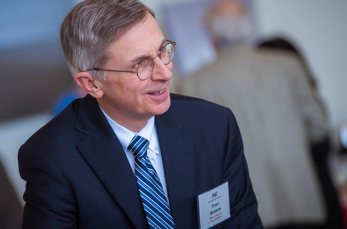 Photo of Tony Sharon, Deputy Executive Vice President and Interim Vice President for Human Resources