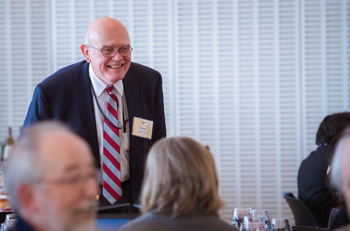 Photo of 50-year achiever Edward Bucher