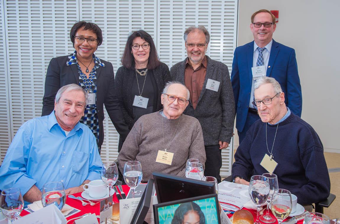 Group photo of new QCC members, 50-year achievers, Board members, keynote speaker