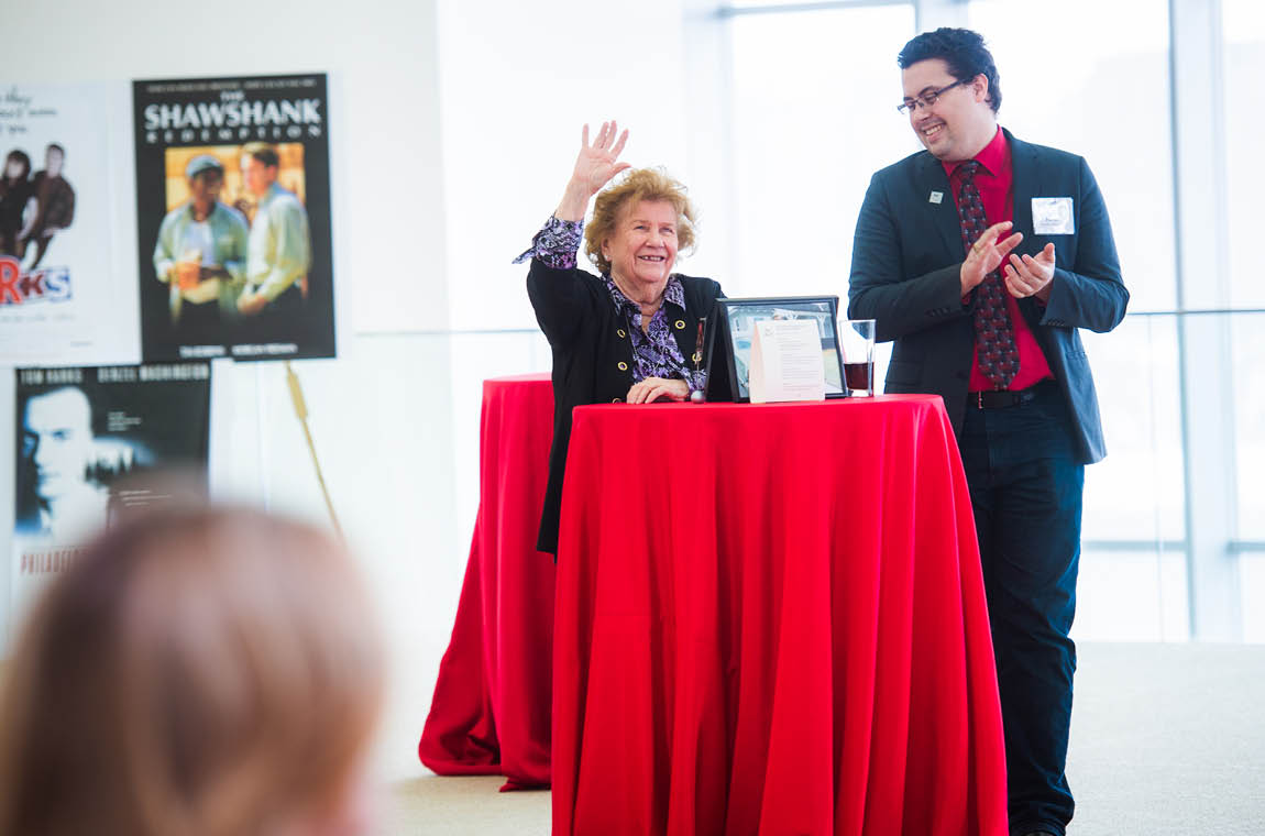 Photo of 50-year achiever Jeannie Lauricella