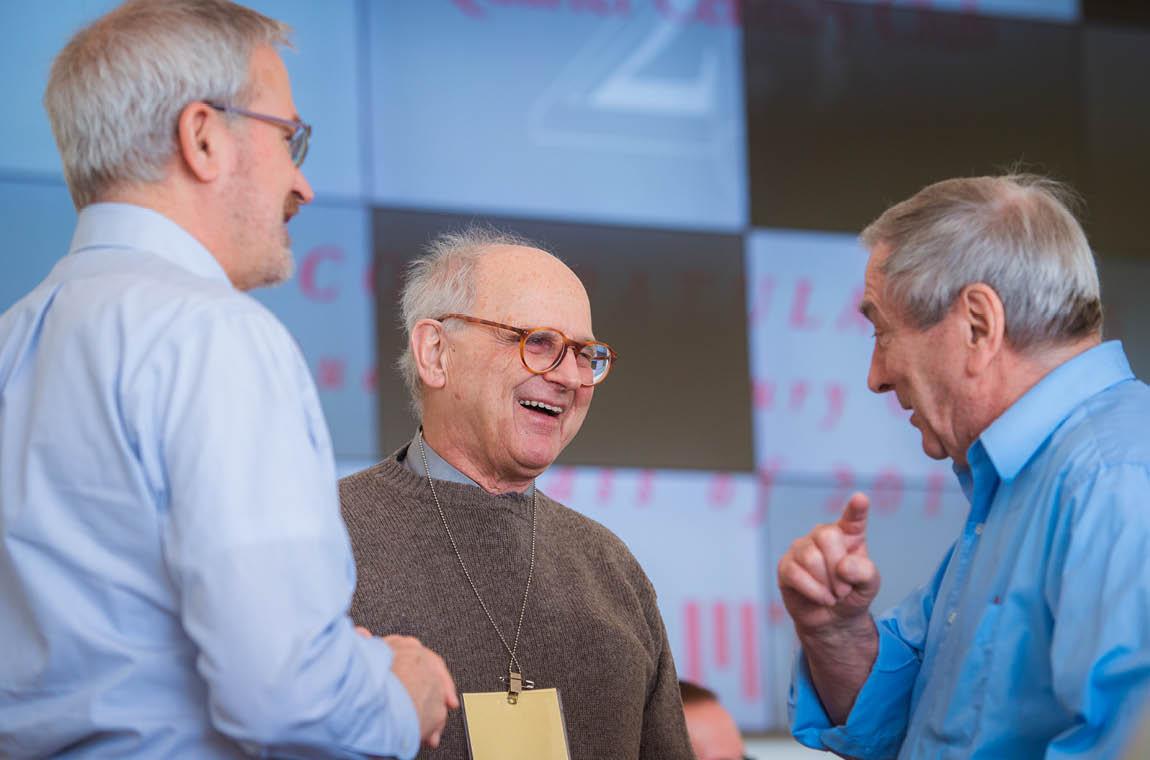 Photo of keynote speaker Prof. Rainer Weiss