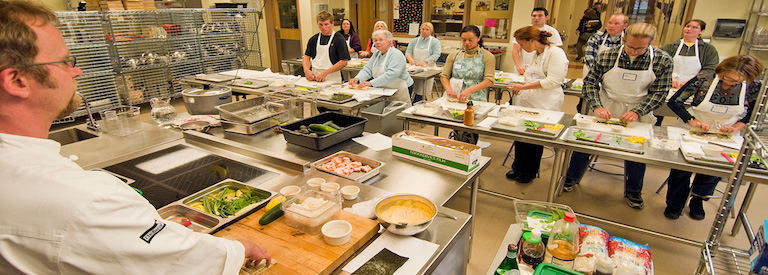 Photo of cooking class