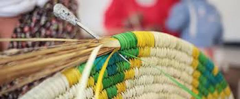 Basket weaving image
