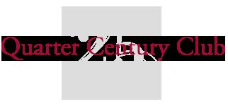 MIT Quarter Century Club logo