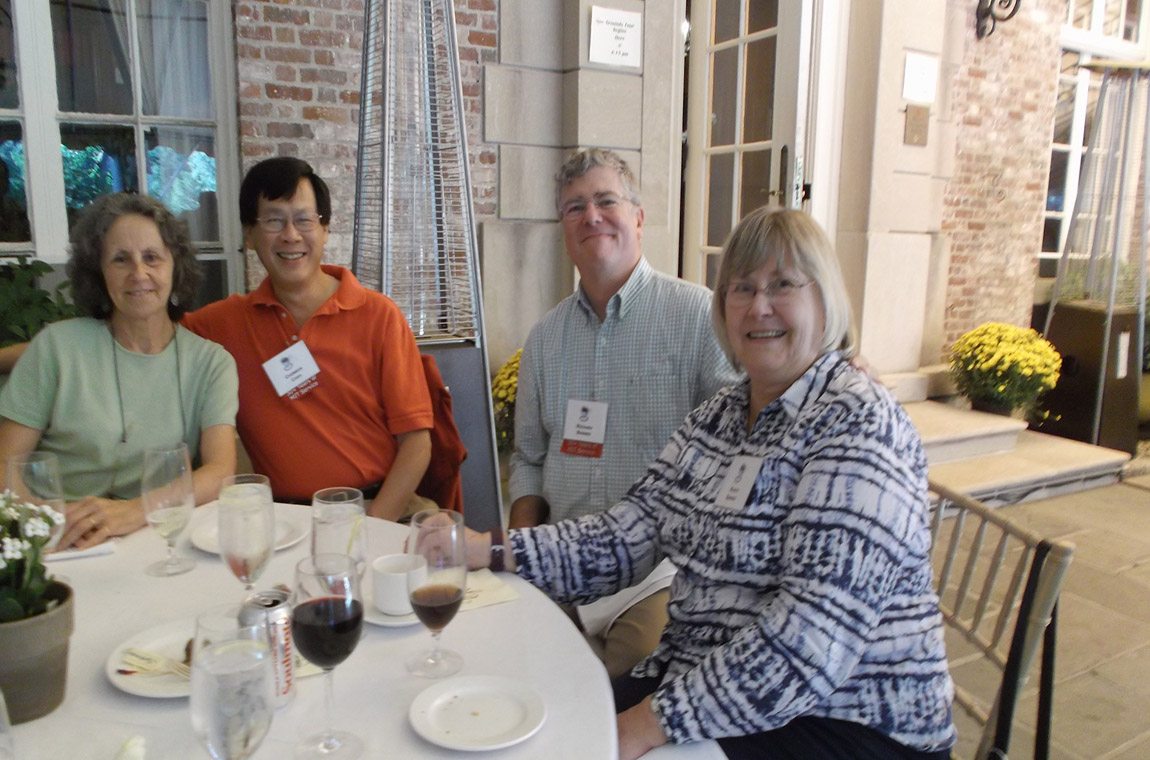 Photo: QCC members and guests enjoying the event
