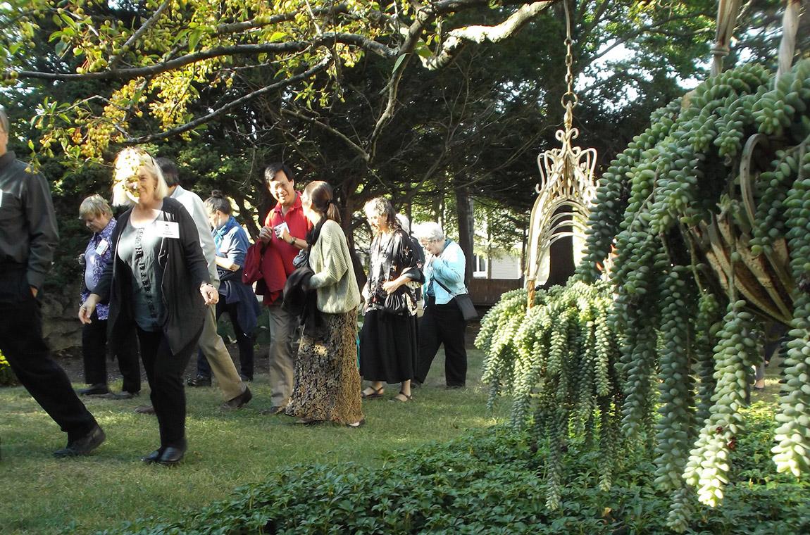 Photo: Endicott House tour of the gardens