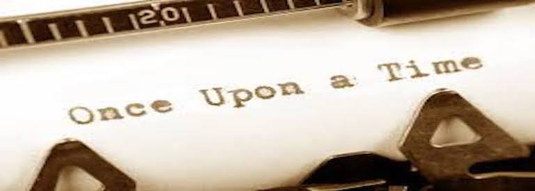 """Image of typewriter and """"Once Upon a Time"""""""